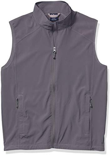 Charles River Apparel Men's Pack-N-Go Vest, Grey, XL