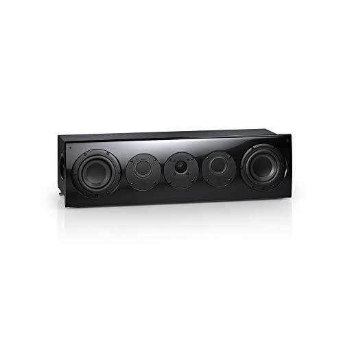 Nubert nuVero 70 Centerlautsprecher | Lautsprecher für Heimkino & Musikgenuss | Stimmen auf höchstem Niveau | Passive Centerbox mit 3 Wege Technik Made in Germany | Kompaktlautsprecher Schwarz