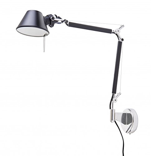 Preisvergleich Produktbild Lampen Artemide Tolomeo micro Wandleuchte - Halo schwarz