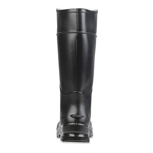 Servus Confort Technologie 35,6cm PVC Coque en acier pour homme Bottes de travail, 18821-11