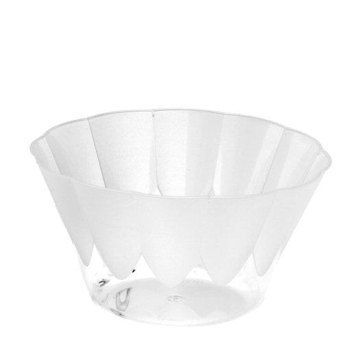 PAPSTAR 12199 20-EIS- und Dessertschalen Invitation rund 400 ml, Durchmesser 12-7 cm glasklar