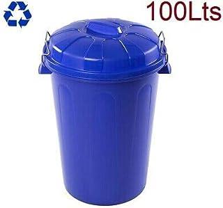 MUGAR Cubo DE Basura 100L para Recogida de residuos 100 litros