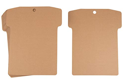 Cardboard Shirt Form, Arts and Crafts Supplies (16 x 13 In, 24-Pack)
