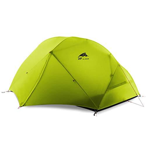 2 persona campaña tienda ultraligero kamp tiendas de campaña Tende Tenta Barraca de acampamento Pesca Tent Tents Blackout Tienda Camping Tienda Pop Tienda de campaña ( Color : 15D Green 4 season )