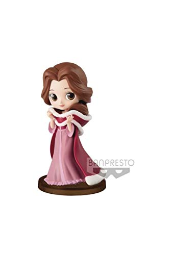 Disney Figura QPOSKET Bella Winter 7 CM, Multicolor (1)