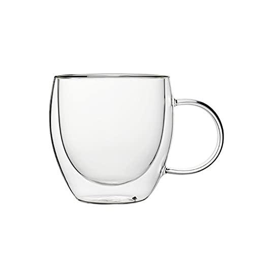 Vidrio transparente taza de café con leche whisky té cerveza cóctel vodka vaso de la bebida del vaso de la taza
