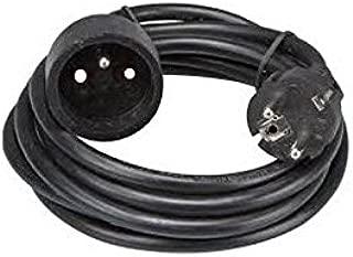 10 m, 4 enchufes, 2300 W, Interruptor t/érmico, 230 V Carrete alargador de Cable EMOS P19510