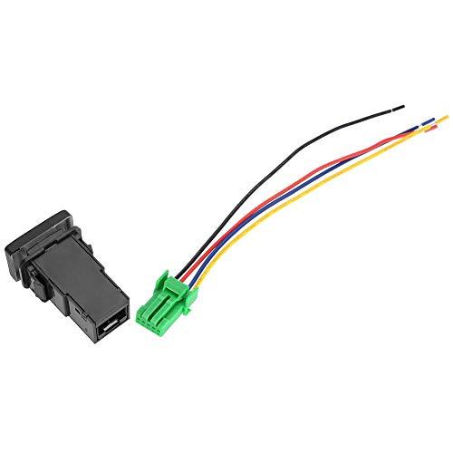 Interruptor de botón universal de 12 V 4 polos con luz indicadora de fondo LED con cables para RAVV4 Camry Tacoma Land Cruiser Prado Hilux Corolla Tundra 4Runner