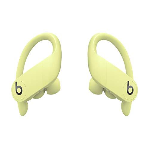 Powerbeats Pro Kabellose In-Ear Bluetooth Kopfhörer – Apple H1 Chip, Bluetooth der Klasse 1, 9 Stunden Wiedergabe, schweißbeständige In-Ear Kopfhörer - Sonnengelb
