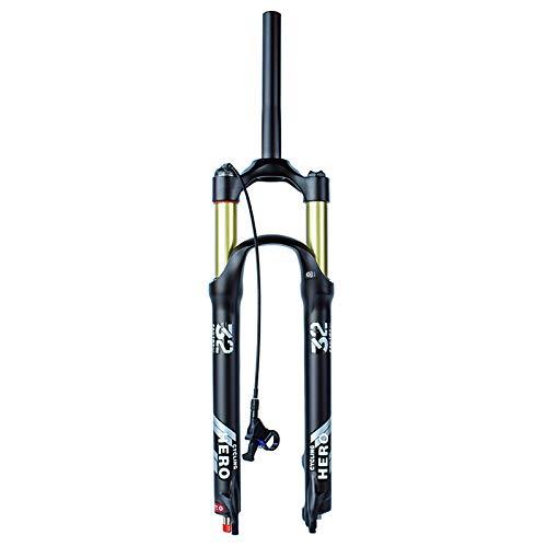 BESTSL MTB Horquilla 26 27,5 29 Pulgadas Tenedor de Bicicleta, Suspensión Delantera...