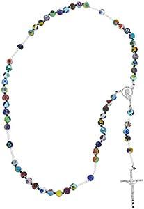 GlassOfVenice Rosario italiano Millefiori de cristal de Murano