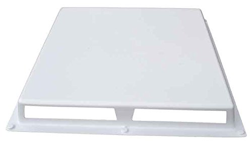 """Elima-Draft Commercial 1-Way Air Deflector Vent Cover for 24"""" x 24"""" Diffusers"""