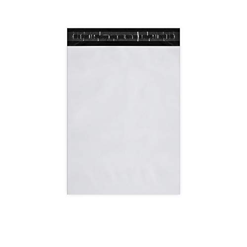KKBESTPACK Poly Mailers Shipping Envelope Self Sealing Bags (white, 10x13 Pack of 100)