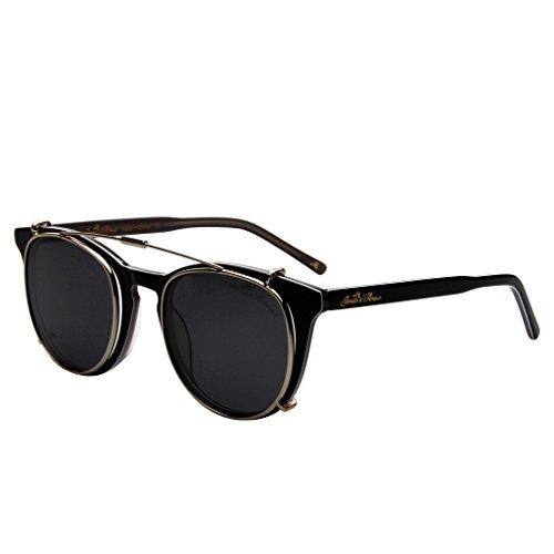 Jardin D'amour Unisex-Adult JS5105-0403 Non-Polarized Optical Frames Wayfarer Sunglasses, Black