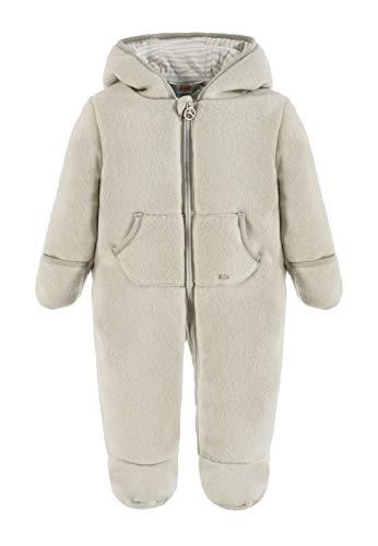 Kanz Overall 1/1 Arm m. Kapuze Pyjama, Gris (Antarctica|Gray 1375), 68 cm Mixte bébé