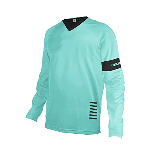 Uglyfrog V-collar Bike Wear Mens Downhill Jersey Rage MTB Cycling Top Cycle Long Sleeve Spring Mountain Bike Shirt