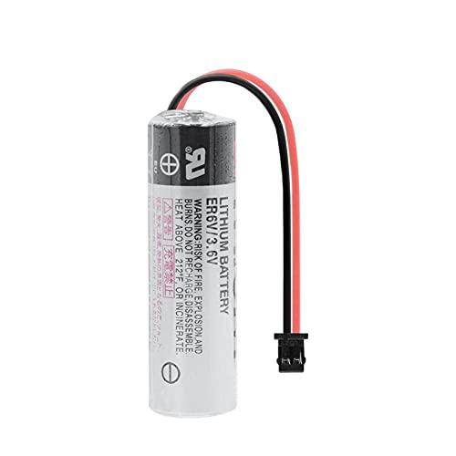 zhoudashu Batería De ión De Litio De 3.6v 2000mah Er6v, Celdas De Repuesto para PLC Servo De Computadora Industrial 1PCS