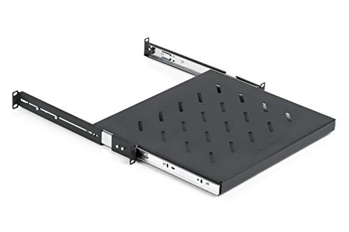 "Gator Rackworks Rack Mount Sliding Accessory Shelf; 1U Size - 14.8"" Deep (GRW-SHELF1SLD)"