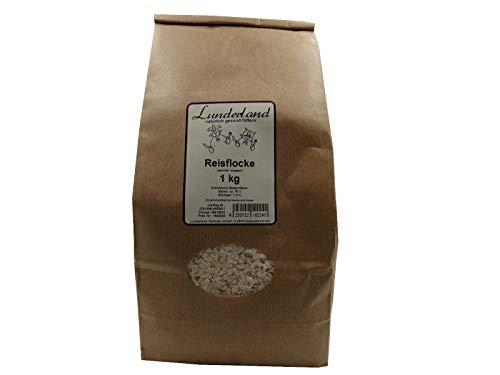 Lunderland Reisflocke 1kg, geschält und vorgegart