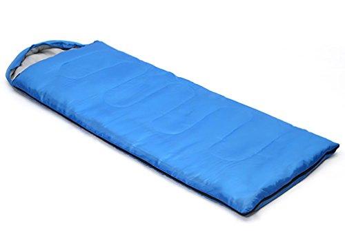 Maman Sacs de couchage Enveloppe Avec un chapeau Polyester Camping À l'extérieur 200G / M2 Coton creux , blue