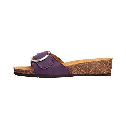 Scholl Sandales sans Bride Amalfi Mule Violet 39