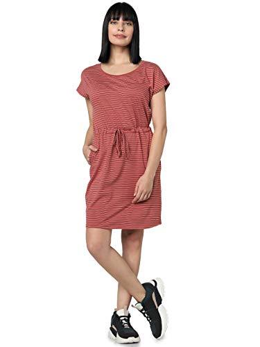 VERO MODA Damen VMAPRIL SS Short Dress GA Color Lässiges Kleid, Laurel Wreath, M