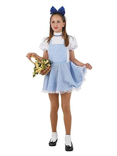 DISBACANAL Disfraz Dorothy niña - -, 8 años