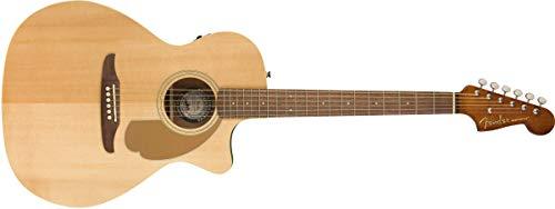 Fender Newporter Player - Guitarra acústica, color natural