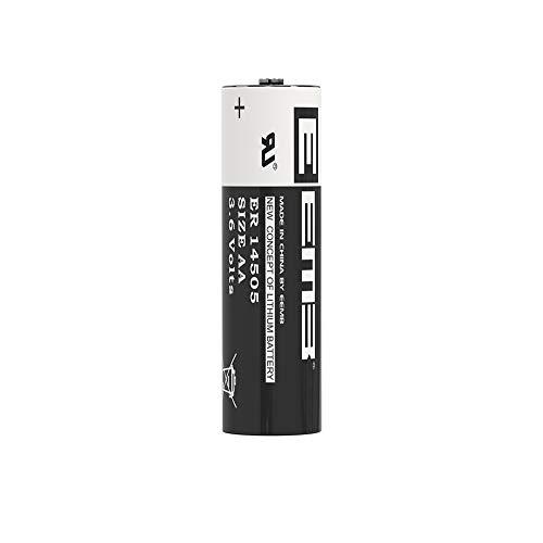 1XEEMB AA 3,6V Li-SOCl2 Batterien ER14505 LS 14500/3,6V Lithium-Thionylchlorid AA 2600 mAh/Li-SOCl2 Batteries mit extrem hoher Energiedichte Nicht wiederaufladbar