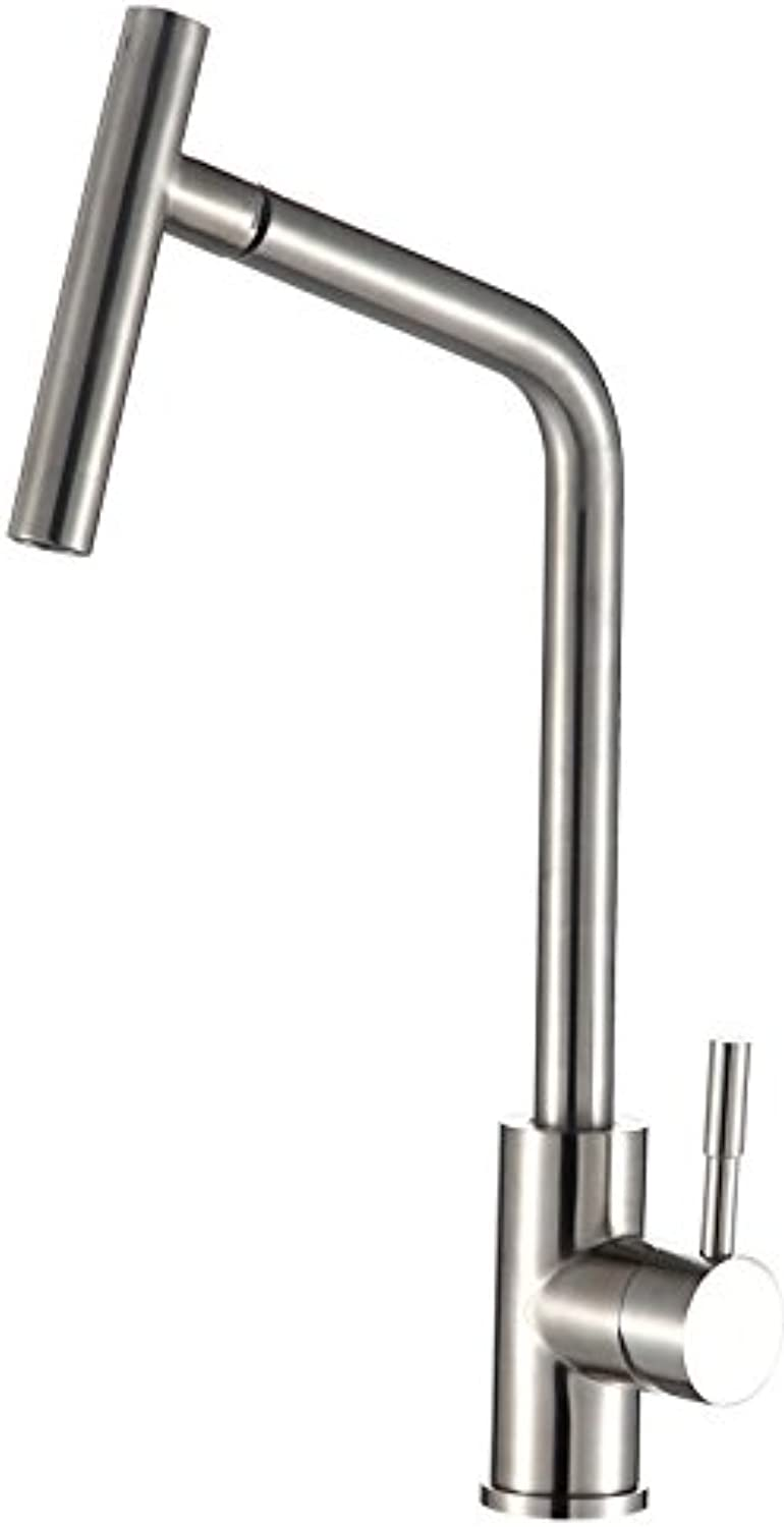 redOOY Bathroom Sink Taps Taps Faucet Basin Faucet Hot and Cold Faucet_304 Stainless Steel Lead-Free Kitchen Wash Basin Hot and Cold Faucet redating