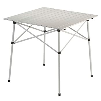 Coleman Outdoor Folding Table | Ultra Compact Aluminum Camping Table
