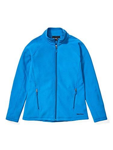 Marmot Damen Jacke Rocklin Full Zip, Damen, Rocklin Full Zip Jacket, blau (classic blue), Large