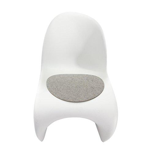 Hey Sign Filzauflage Panton Chair Antirutsch hellmeliert 5011339_07AR