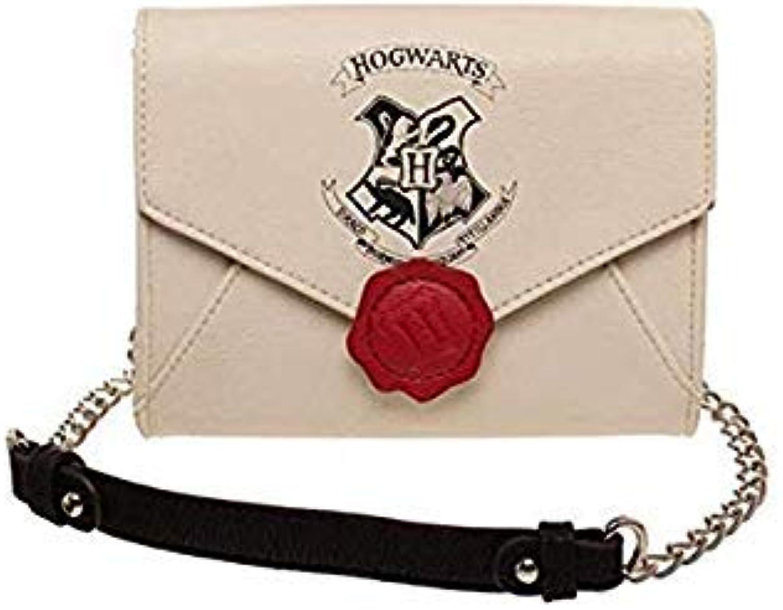 Bloomerang Harry Potter Hogwarts Letter Do Mensageiro Bag Pequenas Mulheres Cadeia Saco PU Ombro Sacos Crossbody Handbag Purse color Handbag
