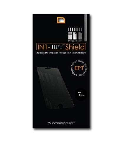 IN1 Pellicola protettiva in vetro temperato per iPhone 8 Plus/7 Plus/6 Plus, tecnologia IIPT Nano Shield