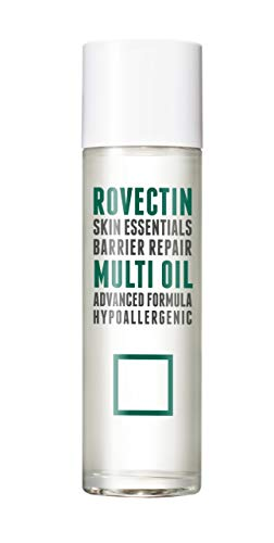 [Rovectin] Barrier Repair Multi Oil For Face and Body - Hydrating, Anti-Aging, Skin-Repairing Multi Oil Formulated with 9 Botanical Oils - Neroli, Argan, Macademia, Jojoba, etc. (3.4 fl oz)