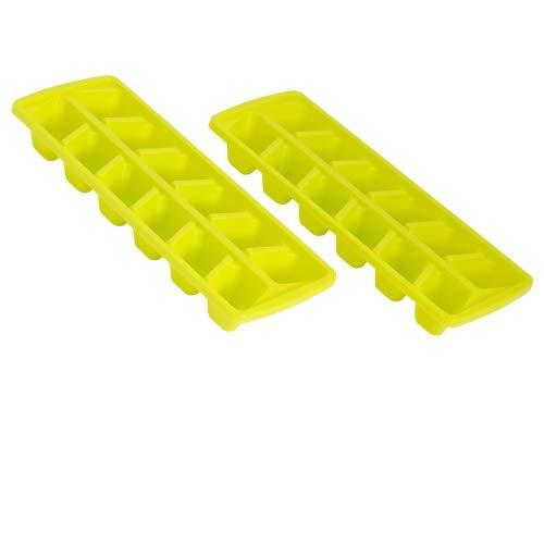 ORYX 2 glaçons 12 glaçons, Set 2 cubiteras, vert