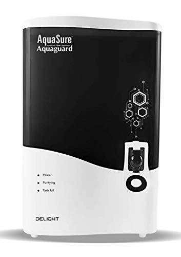 Eureka Forbes Aquasure from Aquaguard Delight 7-litres Table Top/Wall Mountable RO+UV+MTDS (White)...