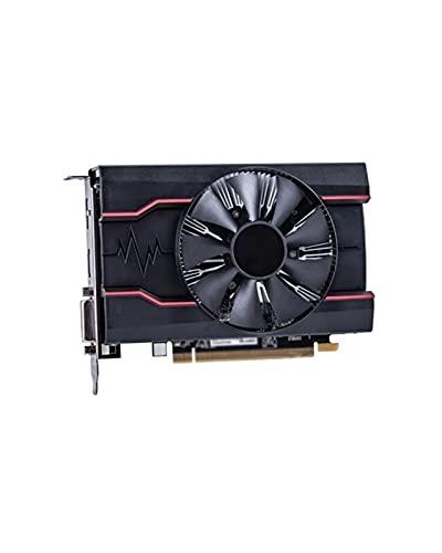 GUOQING Sistema de refrigeración sin Ventilador Fit For Sapphire RX 550 Tarjetas de Video de 2GB GPU Apto Fit For AMD Radeon RX500 2GB GDDR5 PC DisplayPort HDMI DVI 128bit