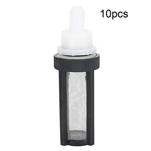 10 STKS Micro Pomp Filter RVS Net Aquarium Waterpomp Strainer Filter Slang Net voor 7 mm 8 mm Slang Submersible Pompen