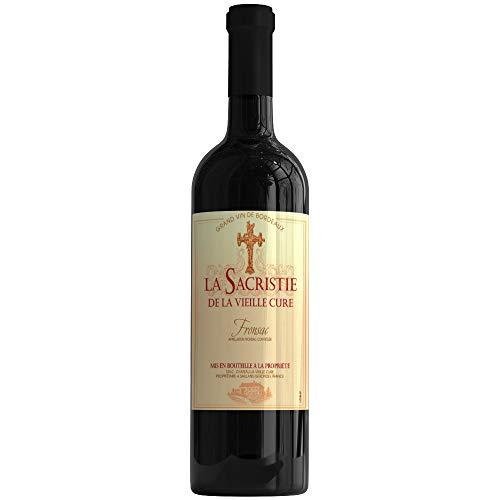 X6 Sacristie de la Vieille Cure 2009 75 cl AOC Fronsac Zweiter wein Rotwein