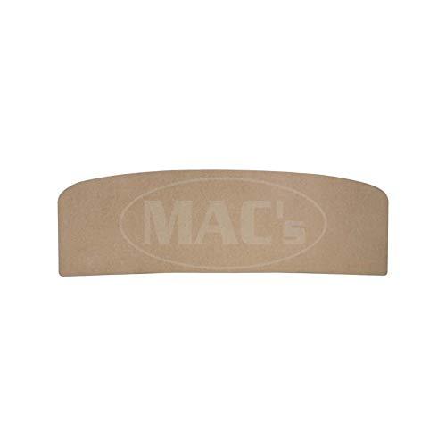MACs Auto Parts 42-77572 -67 Fairlane 2-Door Hardtop Rear Package Tray