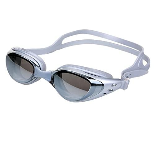 UKKD Gafas de natación Anti-Niebla Espejo Gafas De Natación Sello De Silicona Sello De Natación Gafas De Buceo Gafas Uv Protección Anti-Shatter A Prueba De Agua Gafas De Natación