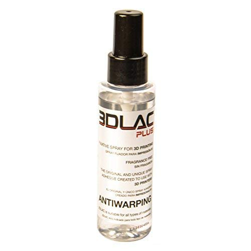 3DLAC Plus Pack Spray Bottle Adhesive for Printer 3D Printing Double Adhesion Antiwarping New Formula without Fragrance PPLA