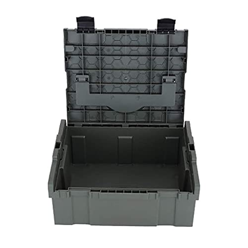 XBSXP Caja de Herramientas de plástico Industrial, Caja de Herramientas de Almacenamiento...