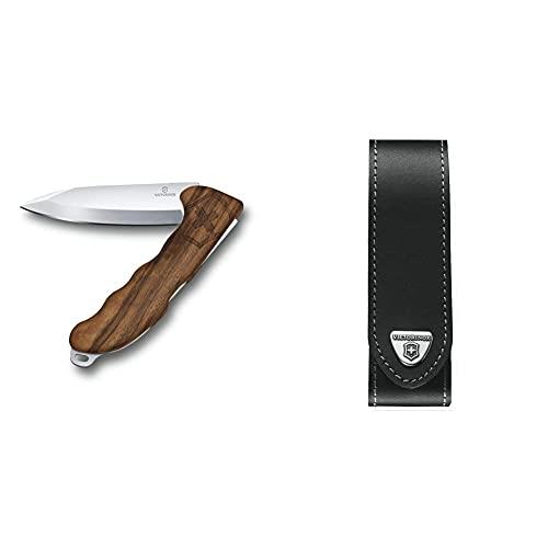 Hunter Pro Wood, inkl. Öse, Nussbaumholz & V4.0506.L Mantel, schwarz, One Size