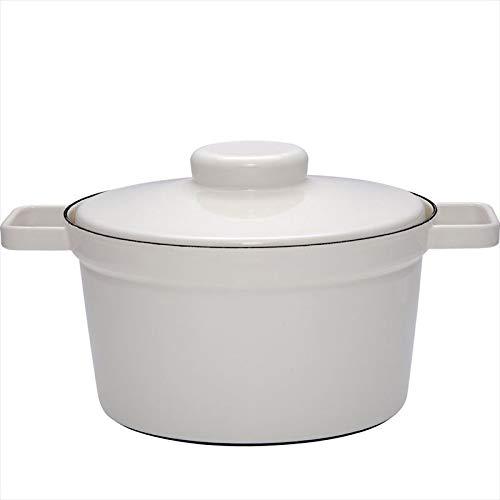 Smalto pentola aroma pot pot 3.5L diametro di 24 centimetri grigio chiaro 115 087 (Japan import / Il pacchetto e il manuale sono scritte in giapponese)