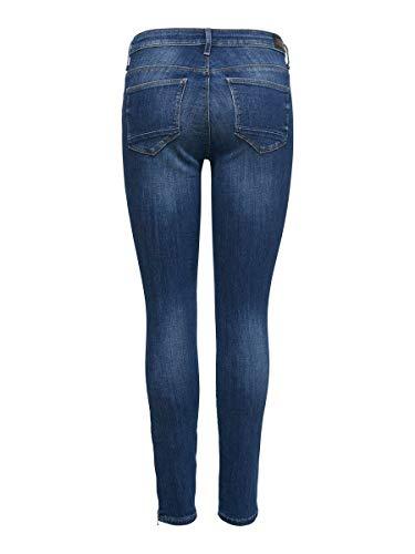 ONLY Damen Skinny Fit Jeans ONLKendell Reg Knöchel 3130Medium Blue Denim