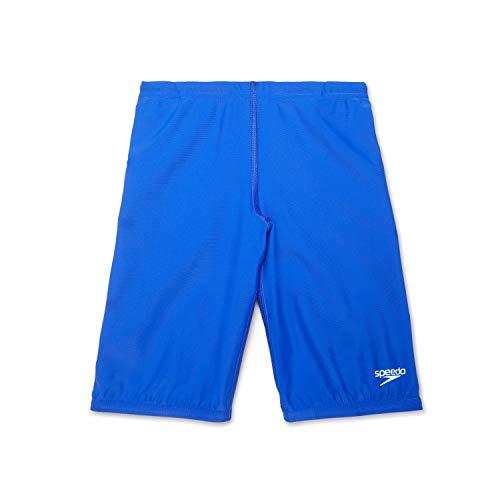 Speedo Jungen Badeanzug Jammer Begin to Swim Solid, Jungen, Schwimmhose, Swimsuit Jammer Begin to Swim Solid, Blau (Turkish Sea), 4