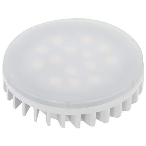 EGLO LED GX53 Lampe, LED Lampe, Reflektor, 6 Watt (entspricht 45 Watt), 550 Lumen, GX53 LED warmweiß, 3000 Kelvin, LED Reflektorlampe, Ø 7,5 cm